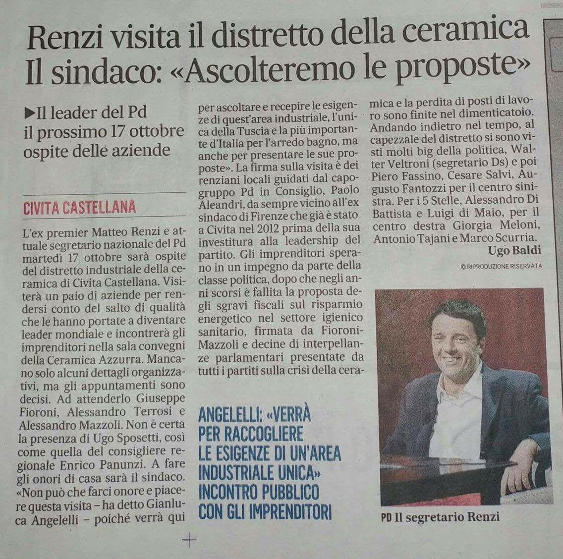 IL SINDACO INFORMA (9 Ottobre 2017)