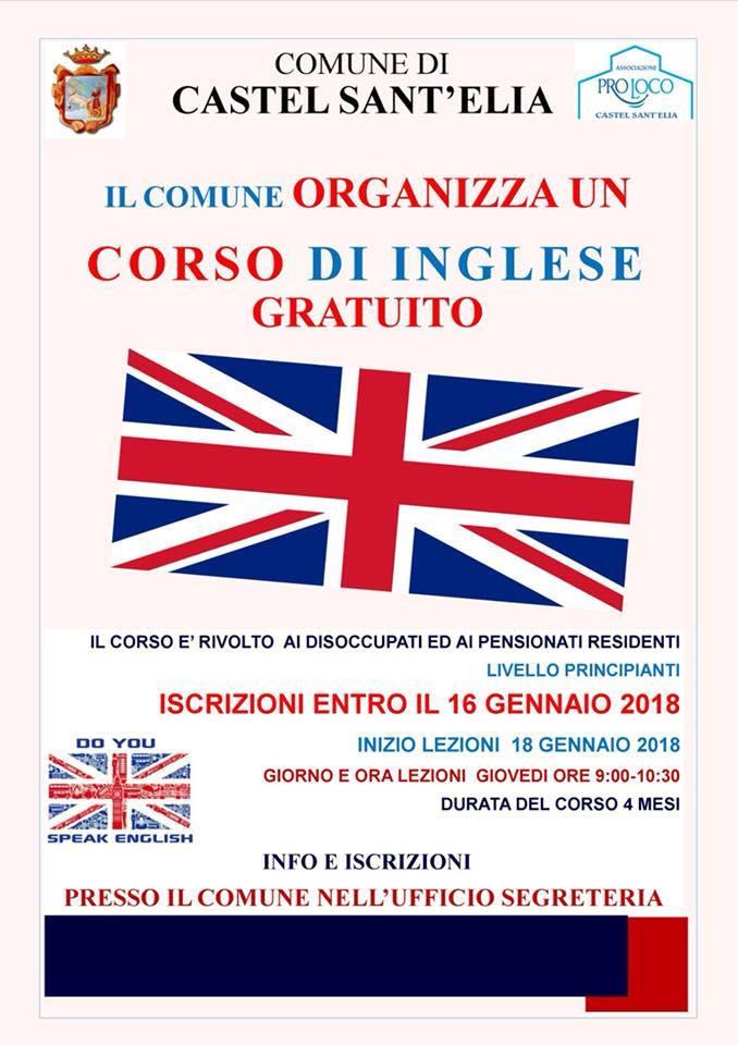 CORSO D' INGLESE GRATUITO