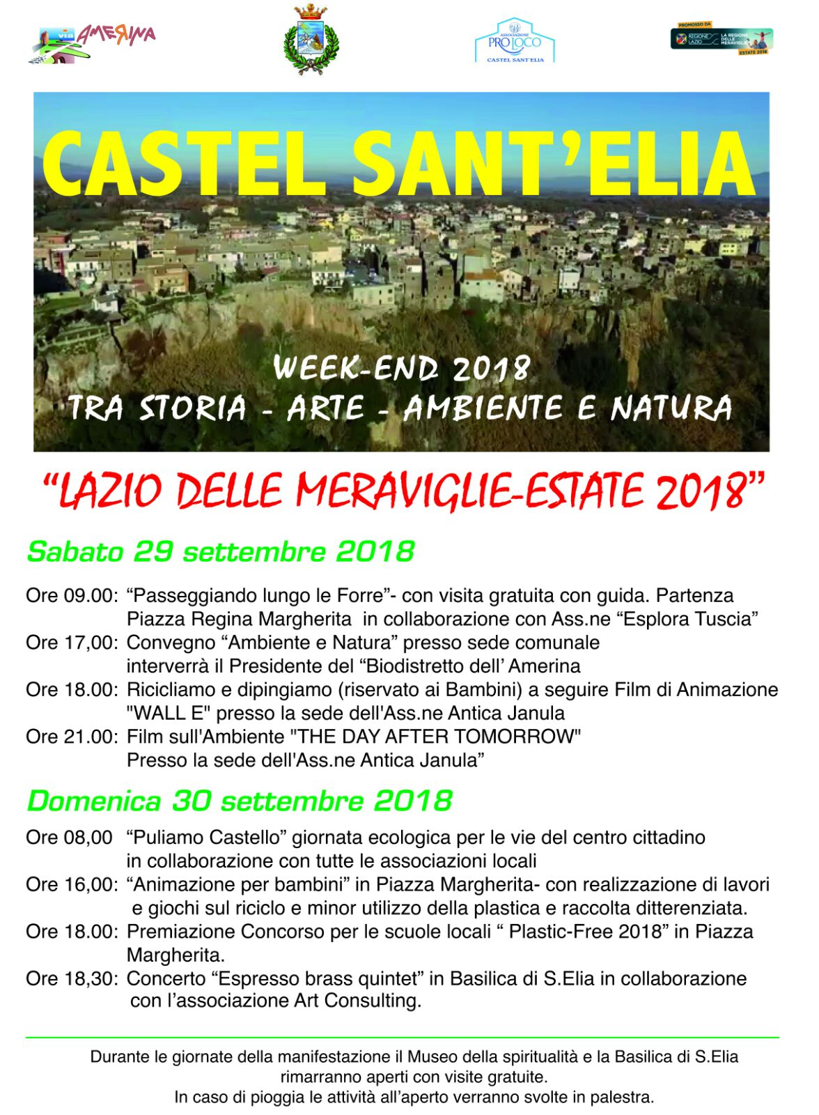 WEEK-END AMBIENTE E TERRITORIO
