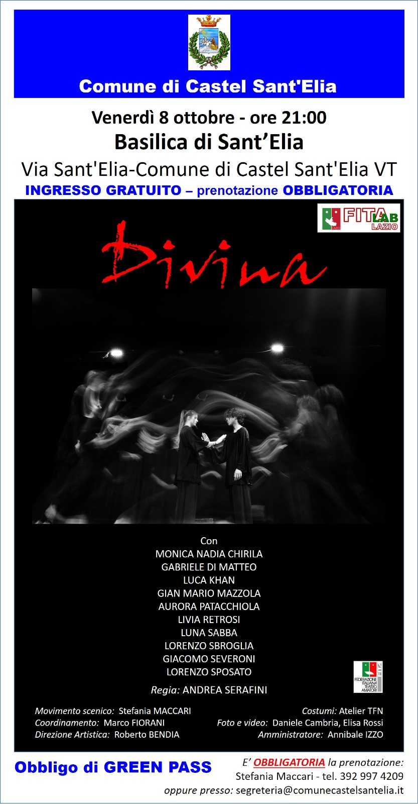 DIVINA 08.10.21 BASILICA ORE 21.00