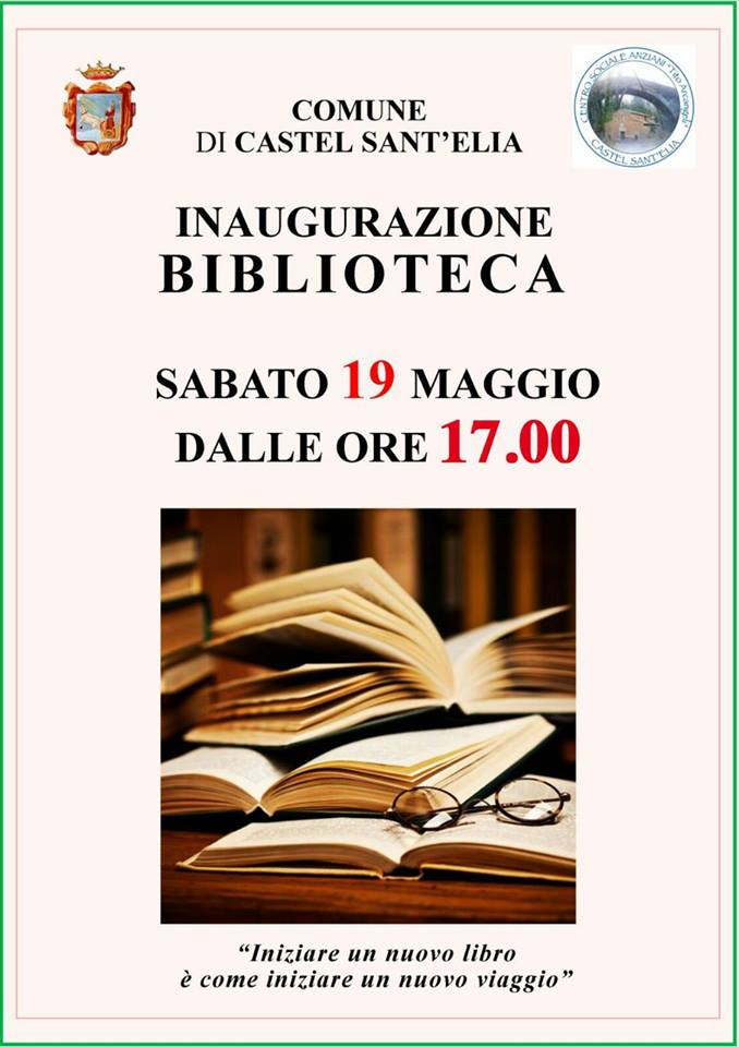 APERTURA BIBLIOTECA