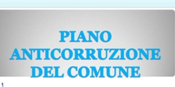 AVVISO PUBBLICO PER L'APPROVAZIONE DEL PIANO ANTICORRUZIONE E PIANO TRASPARENZA PER L'ANNO 2021- 2023