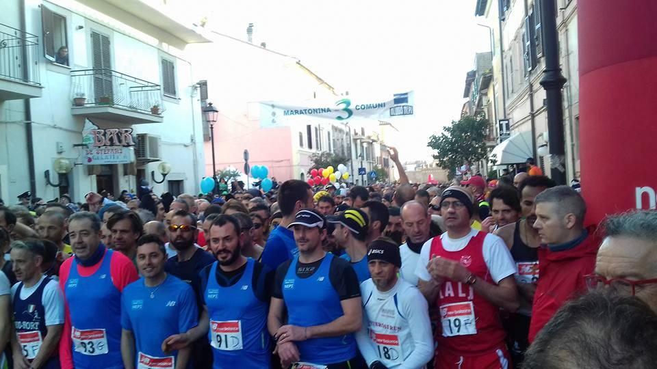 Maratonina dei 3 Comuni